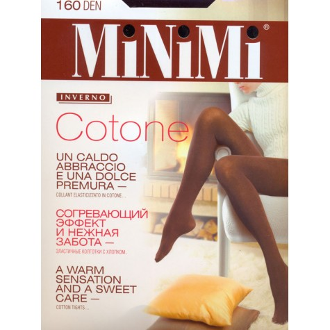 Колготки MiNiMi Cotone 160 MAXI