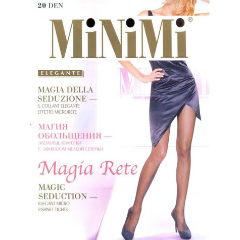 Колготки MiNiMi Magia Rete (эффект сетки)