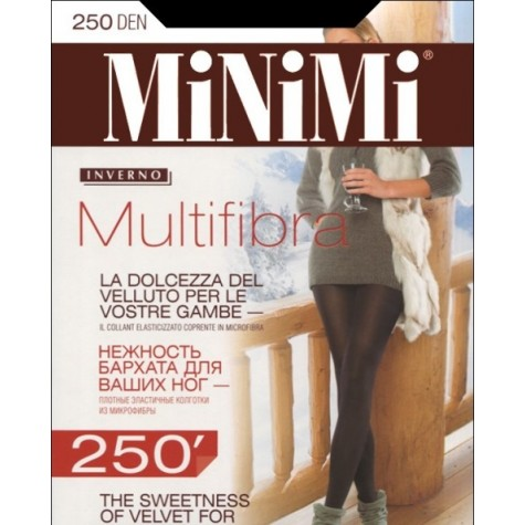 Колготки MiNiMi Multifibra 250 3D