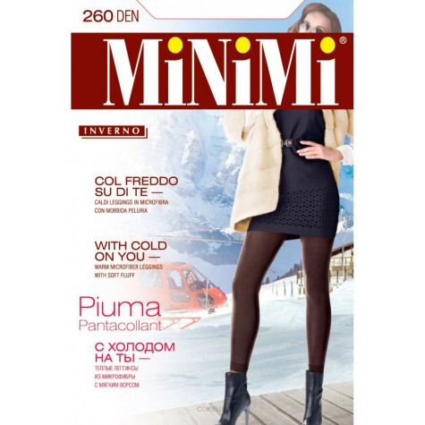Легинсы MiNiMi Pantacollant Piuma 260 (микрофибра с флисом)
