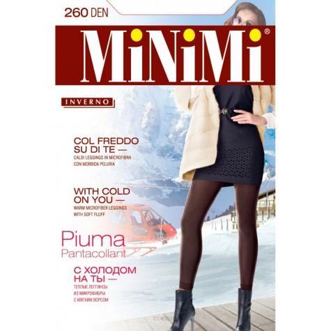 Легинсы MiNiMi Pantacollant Piuma 260 MAXI (микрофибра с флисом)