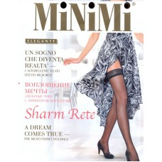 Чулки MiNiMi Sharm Rete (эффект сетки)