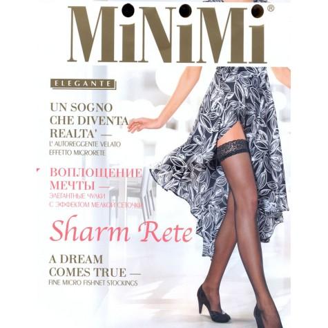 Чулки MiNiMi Sharm Rete (эффект тюля)