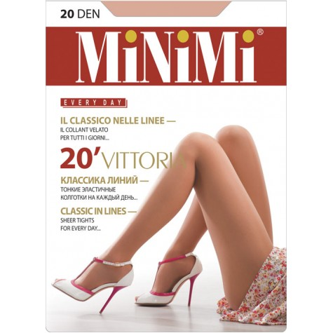 Колготки MiNiMi Vittoria 20 (шортики)