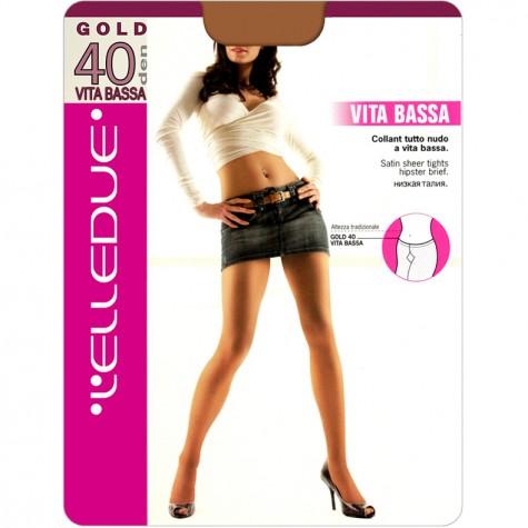 Колготки L'Elledue Gold 40 Vita Bassa