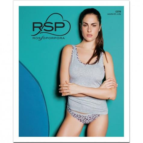 Комплект (майка, трусы) Rossoporpora CD719 Coordinato Canotta / Slip Donna Singolo