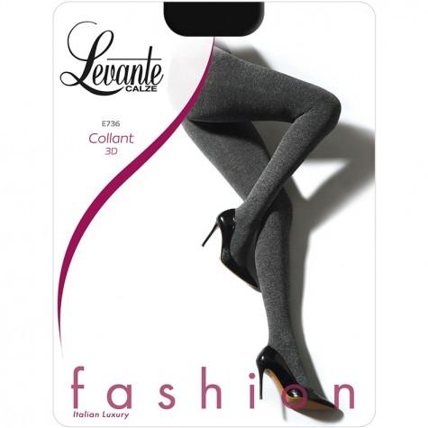 Колготки Levante E736 (с меланжевым эффектом и люрексом)