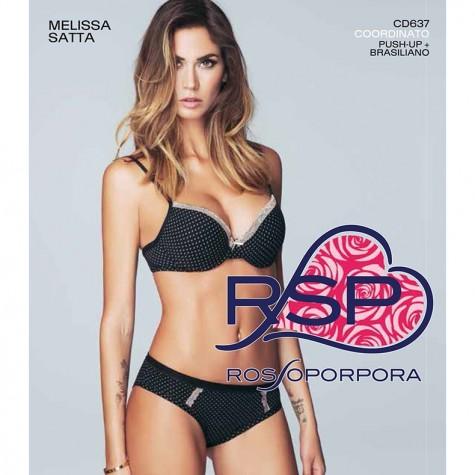 Комплект (бюст, трусы) Rossoporpora CD637 Coordinato Reggiseno / Parte Bassa Donna Singolo