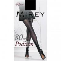 Колготки Mirey Podium 80 (с геометрическим рисунком сзади)