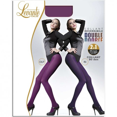 Колготки Levante Double 80 Collant Reversibile