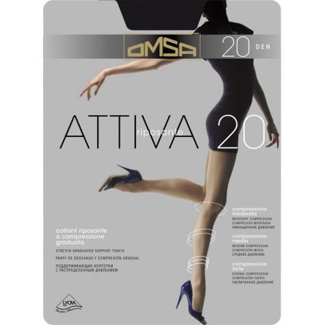 Колготки Omsa Attiva 20