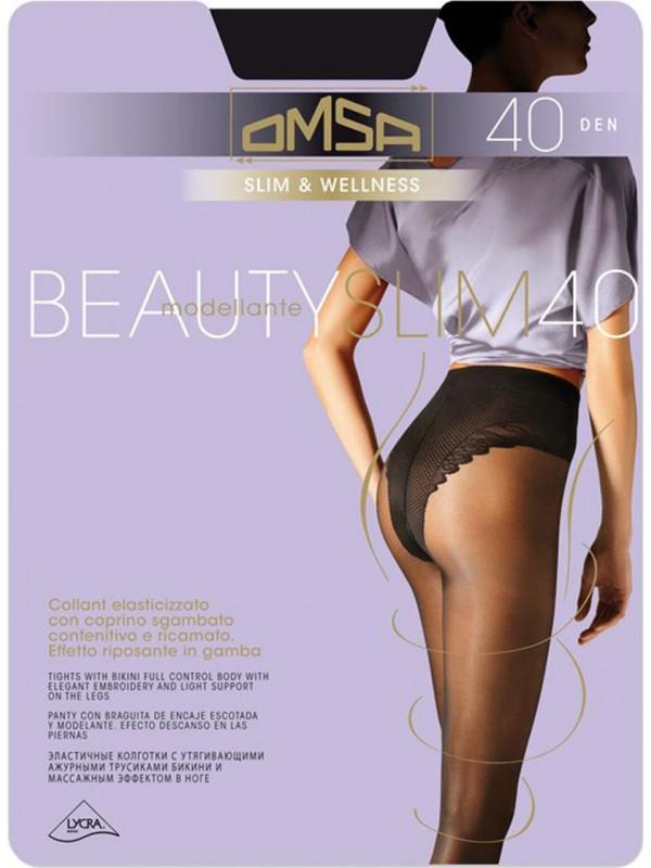 Колготки OMSA Beauty Slim размер 4 плотность 40 Den Daino