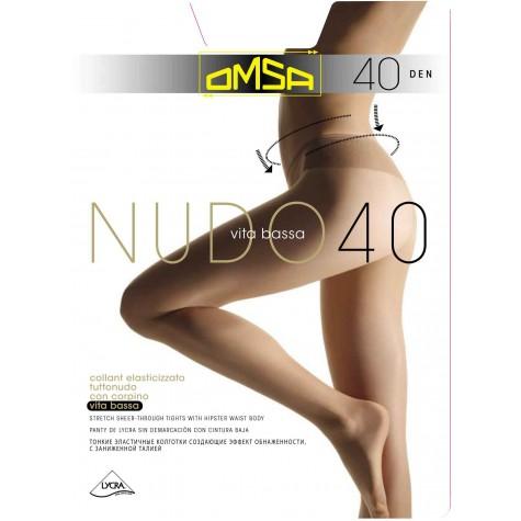 Колготки Omsa Nudo 40 Vita Bassa