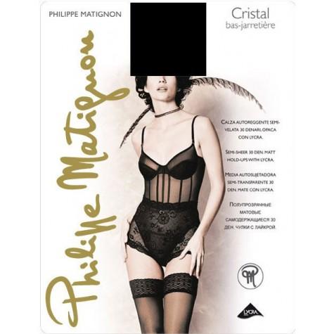 Чулки Philippe Matignon Cristal 30 Bas-Jarretiere